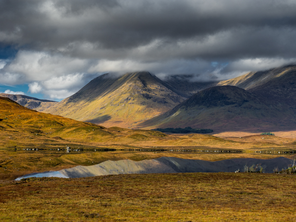 Lochan na h-Achlaise Schotland